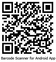 Barcode Scanner for our A1 Intraday Tips Android Application