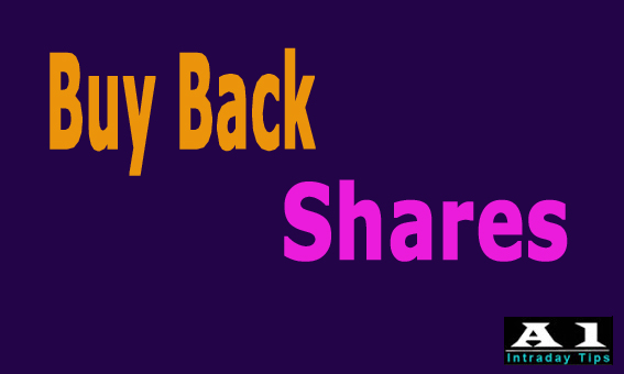 Buy back of Shares in NSE Market