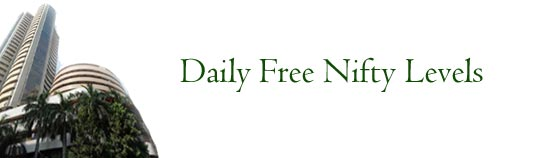 Daily Free Nifty levels for day traders in nse market