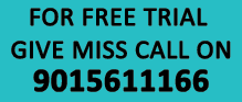 For Free Trial of our Share Tips Service Give Miss call on 8000203322