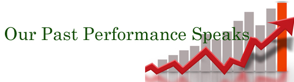 Our Past Performance in nse stock market
