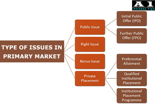 Type of Issue in Primary Market